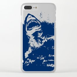 Patrick Swanson Clear iPhone Case