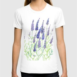 Watercolor Lavender Bouquet T-shirt