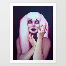 dead chick Art Print