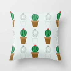 C13D Cactus Throw Pillow