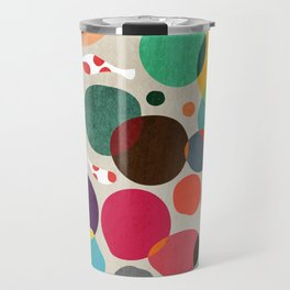 Lotus in koi pond Travel Mug