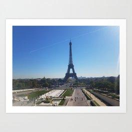 Paris, Eiffel Tower Art Print