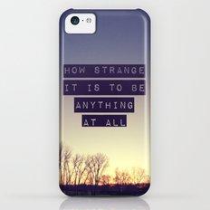 How Strange Slim Case iPhone 5c