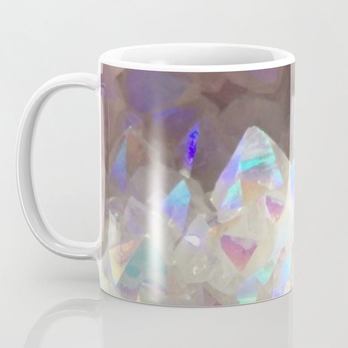 Iridescent Aura Crystals Coffee Mug