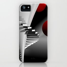 go upstairs -2- iPhone Case