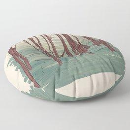Andrei Tarkovski´s The Sacrifice Illustration Floor Pillow