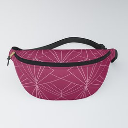 Art Deco in Raspberry Pink Fanny Pack