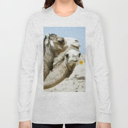 Daisy Camel Long Sleeve T-shirt