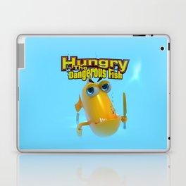Hungry! The Dangerous Fish! Laptop & iPad Skin