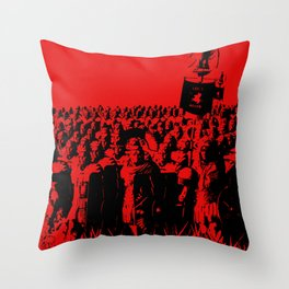 Ancient Roman Legion Throw Pillow