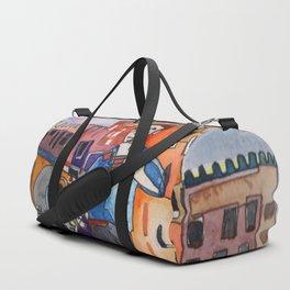Lovers in Venice Duffle Bag