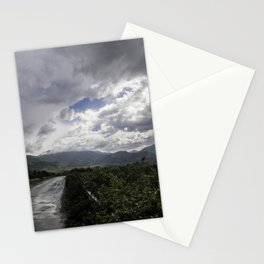 After the storm II - on the road Stationery Cards