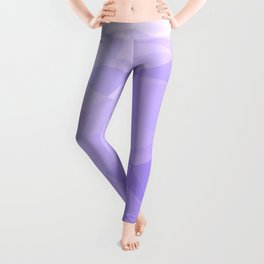 Low Poly Lavender Ombre Leggings