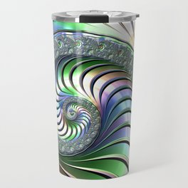 Colorful Spiral Travel Mug