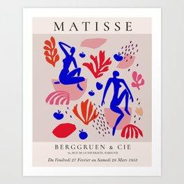 Matisse  inspired Kunstdrucke