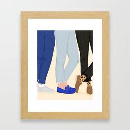 Legs For Days Framed Art Print