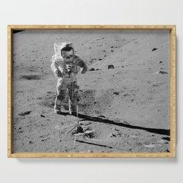 Apollo 17 - Commander Gene Cernan Serving Tray