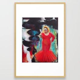 Fierce.jpg Framed Art Print