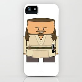 Episode I: The Phantom Menace - Qui-Gon Jinn iPhone Case