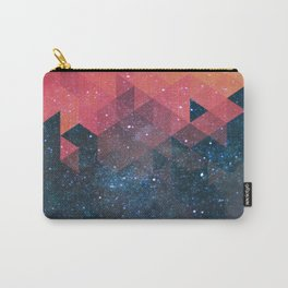 Space triangles 02 Carry-All Pouch