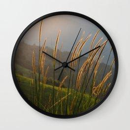 Sunset lover II Wall Clock