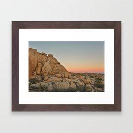 Desert Colors Framed Art Print