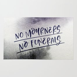 No Mourners, No Funerals Rug
