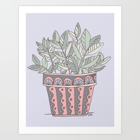Potted Plant by lauramax