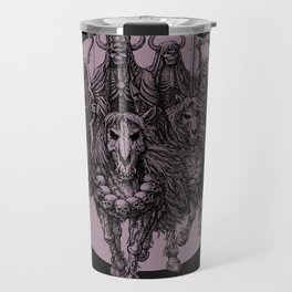 """The four horsemen of the apocalipse"" Travel Mug"