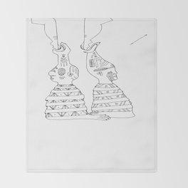 natives Throw Blanket