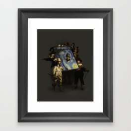 The Starry Night Watch Framed Art Print