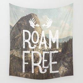 Roam Free - Yosemite Wall Tapestry