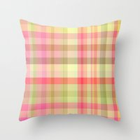 square Throw Pillows featuring Square  by Susann Mielke
