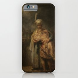 Rembrandt - David and Jonathan (1642) iPhone Case