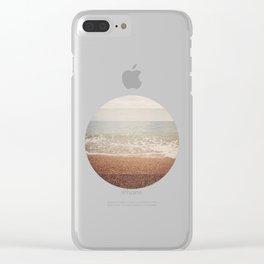 SEA CIRCLE Clear iPhone Case