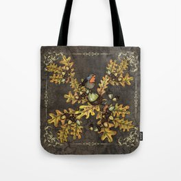 History of the autumn forest+5 Tote Bag