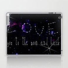 LOVE YOU GALAXY  Laptop & iPad Skin