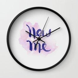 New Me Wall Clock