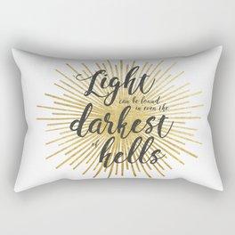 ACOWAR   Darkest of Hells Rectangular Pillow