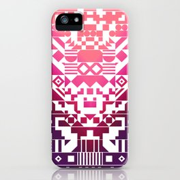 Digital Inkblot iPhone Case