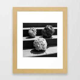 Blob Architecture Framed Art Print