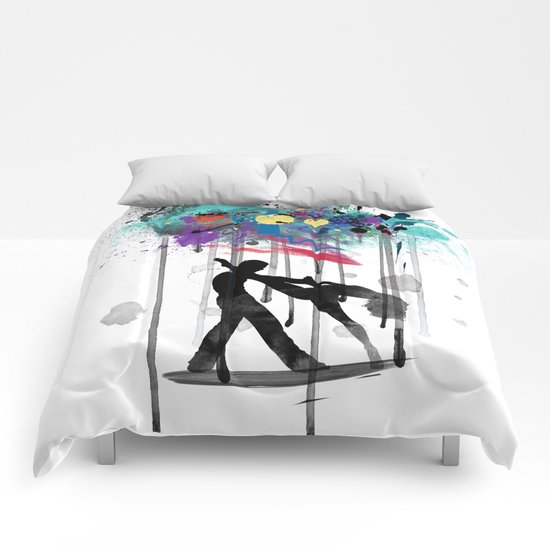 rain again  Comforters