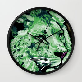 Lion Wall Clock
