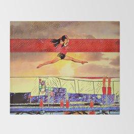 soar high! Throw Blanket