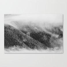 Austrian mountain view Canvas Print