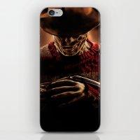 freddy krueger iPhone & iPod Skins featuring Freddy Krueger by Duke78