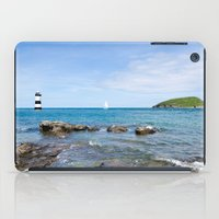 puffin iPad Cases featuring Puffin Island by PICSL8