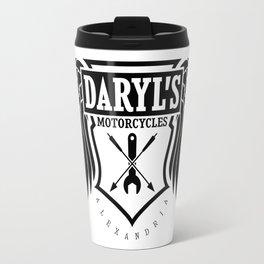 Daryl Dixon Motorcycles TWD Travel Mug