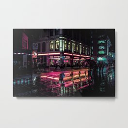 London Nights / Liam Wong Metal Print