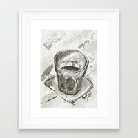 whiskey Framed Art Prints featuring Whiskey by Matthew Hall